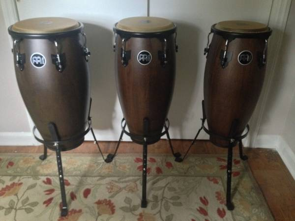 Meinl Headliner Conga Set Vintage Wine Barrel Finish | Djembe Bongos D