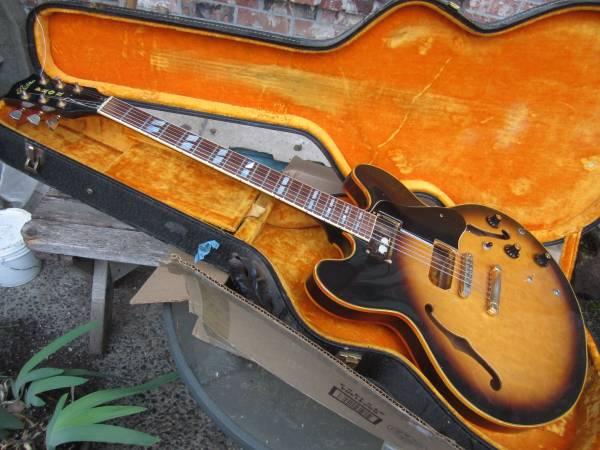 1980 aria Pro II 335 type ES-800 guitar