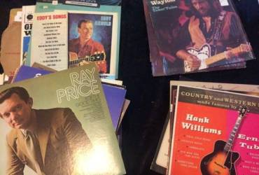 45 Country Gospel and Bluegrass LPs