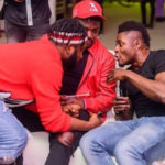 Footballer Obafemi Martins, CDQ and Slimcase on a night out (See Photos)