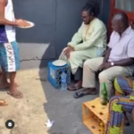 Legendary Daddy Showkey paid a visit to one of his house in Lagos where people lives for FREE. [WATCH VIDEO]