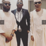 Legend Baba Hafusa 'Reminisce' Spotted With Singer Ayo Bishi During His Dedication Of His New Home In Lekki [SEE PHOTOS]