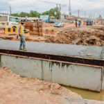 ENGINEERS CONSTRUCT CULVERTS ON PANSEKE-ADIGBE ROAD, AMIDST INSTALLATION OF UTILITIES