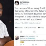 You can start a family with a ₦30k monthly salary — Nigeria man says