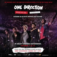 GIVEAWAY: ONE DIRECTION WHERE WE ARE - THE CONCERT FILM October 11-12 (Phila, PA)