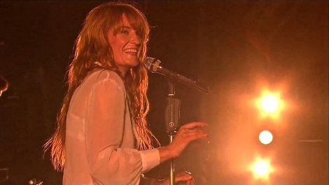 Florence + The Machine | Coachella |4/12/15 | iPhone5 Screen Shot of Weekend 1 Live Stream Un-Leashed by T-Mobile