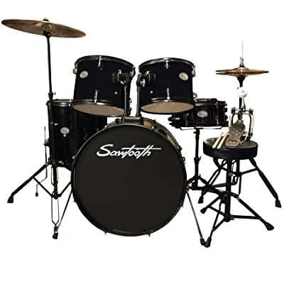 6 Best Beginner Drum Sets     Top Picks for All Ages and Genres Rise by Sawtooth Full Size Student Drum Set   Best for Students