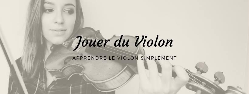 jouer du violon