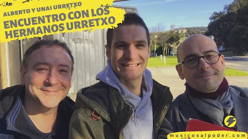 Encuentro con los hermanos Urretxo