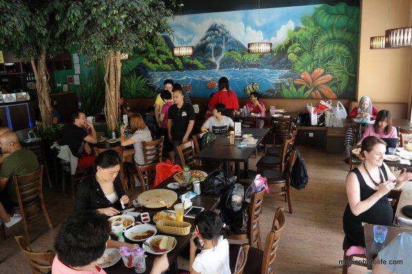 Amazonia Fun Singapore Bistro Cafe area