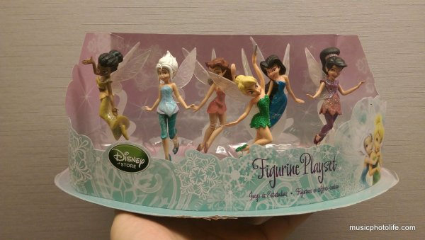Disney PIxie Fairies Figurine Playset