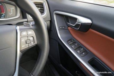 Volvo S60 T5 driver door panel