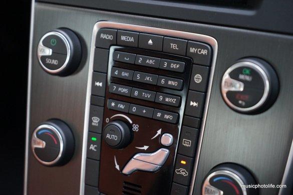 Volvo S60 T5 centre console