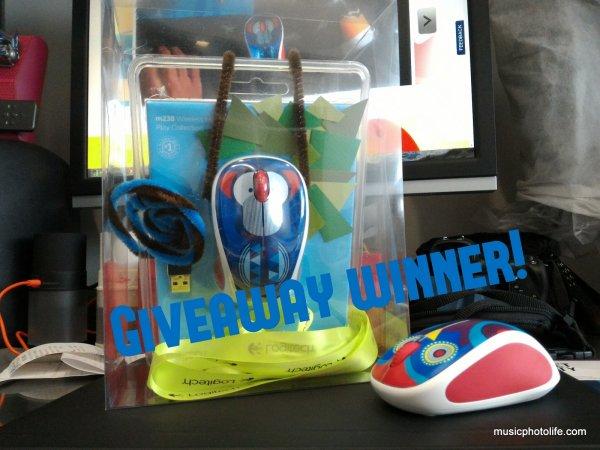 Logitech M238 Giveaway Winner