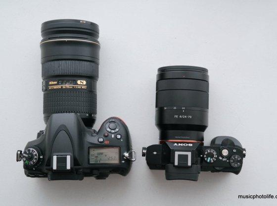Compare Nikon D600 Sony A7