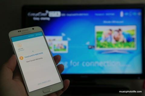 EasyCast OTA on Samsung Galaxy S6