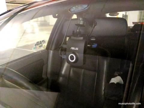 ASUS RECO car cam installed