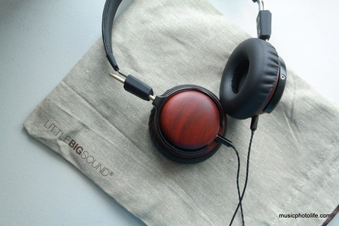 Little Big Sound NatureTones On-Ear Pod RoseWood