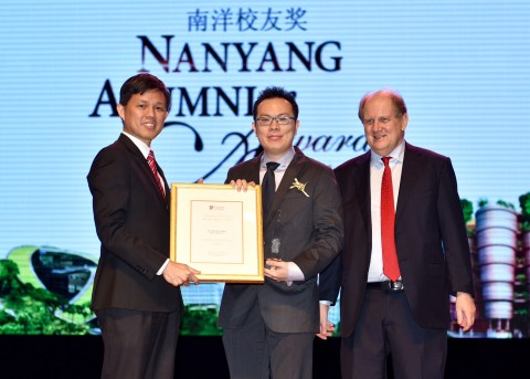 Chester Tan - Nanyang Outstanding Young Alumni Award 2015 by Daniel Ding