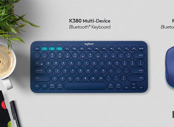 Logitech M337 Mouse K380 Keyboard
