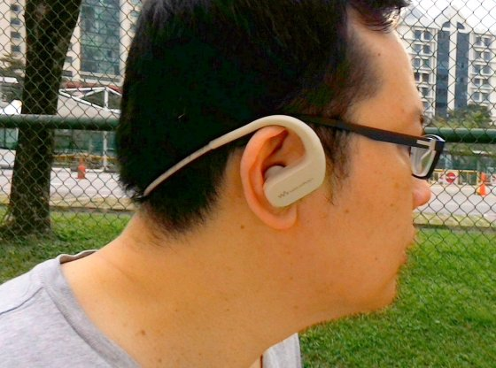 Sony NW-WS413 Walkman Headset review by musicphotolife.com