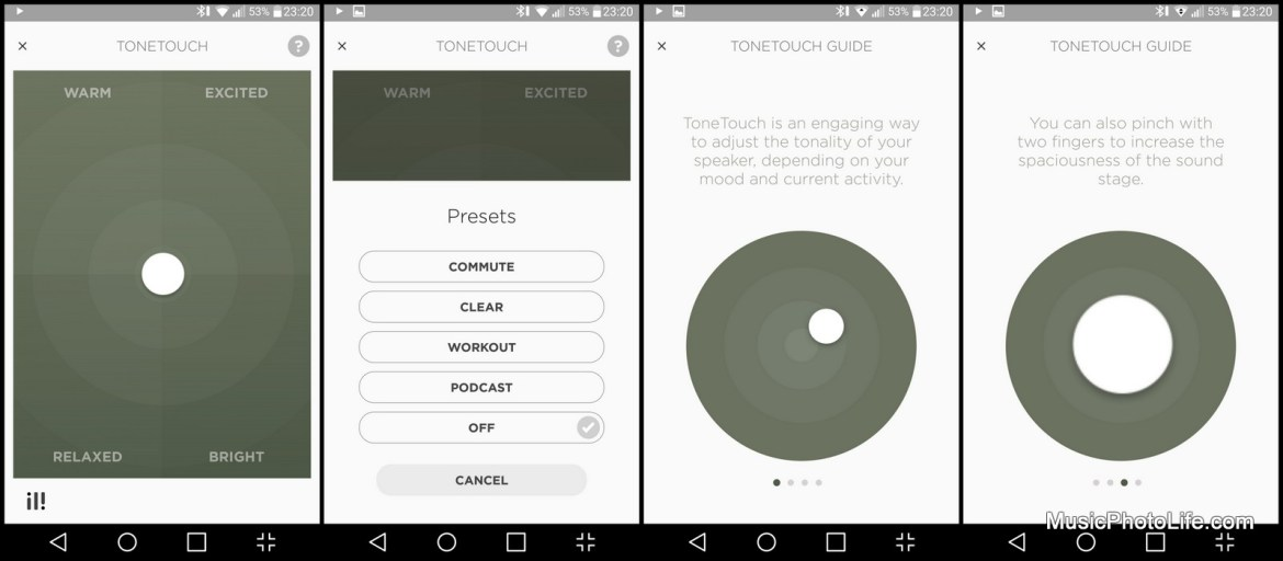 Beoplay app on Android