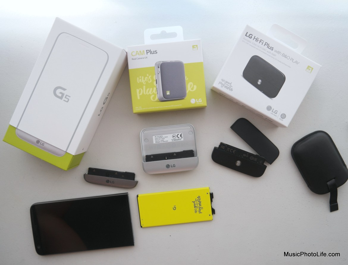 LG G5 and modules