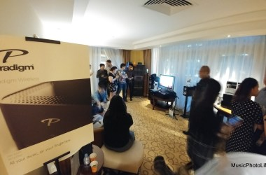 Paradigm PW Series launch event in Singapore