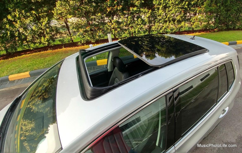 Volkswagen Sportsvan sunroof