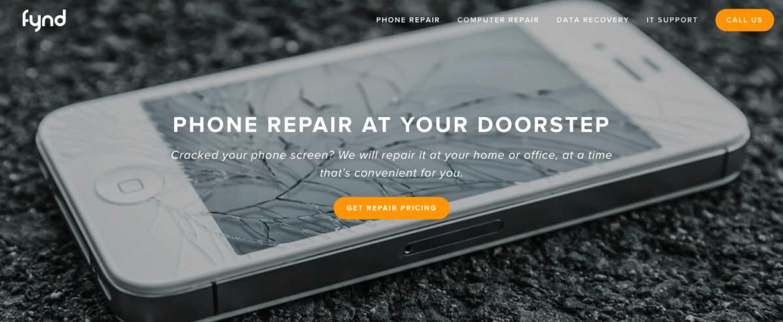 fynd - phone repair at your doorstep