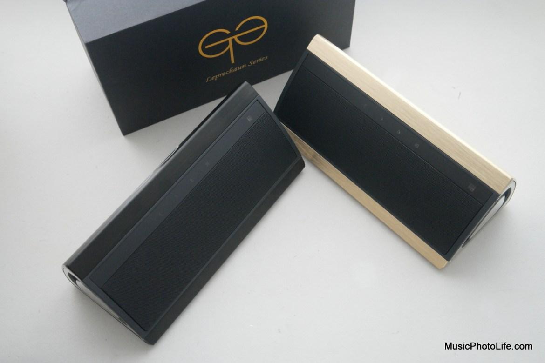 GoldTouch Asia Goliath wireless speaker in black colour