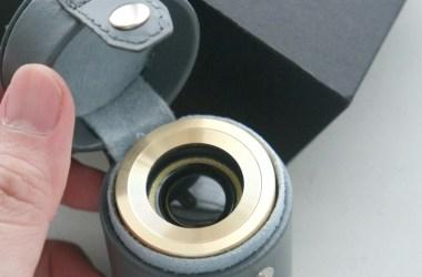 GoldTouch Asia Leprechaun wireless mini speaker in grey case
