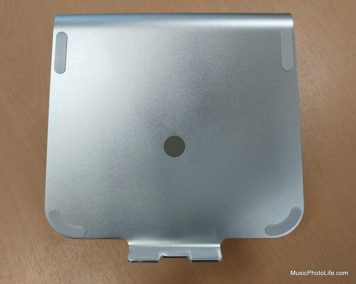 Laptopstand.Sg ErgoSilver - top view