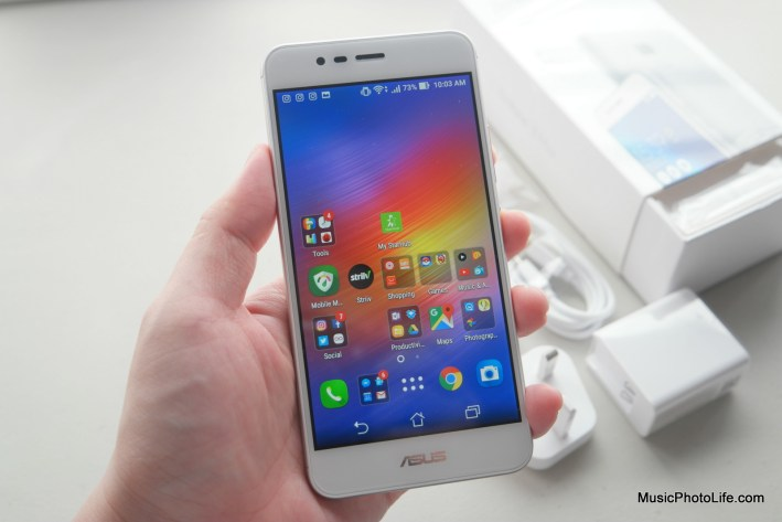 ASUS Zenfone 3 Max display - review by musicphotolife.com