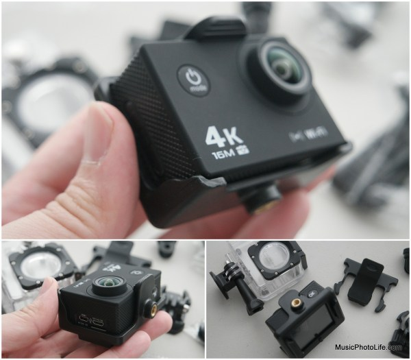 XDC V3 Sports Camera with clip mount