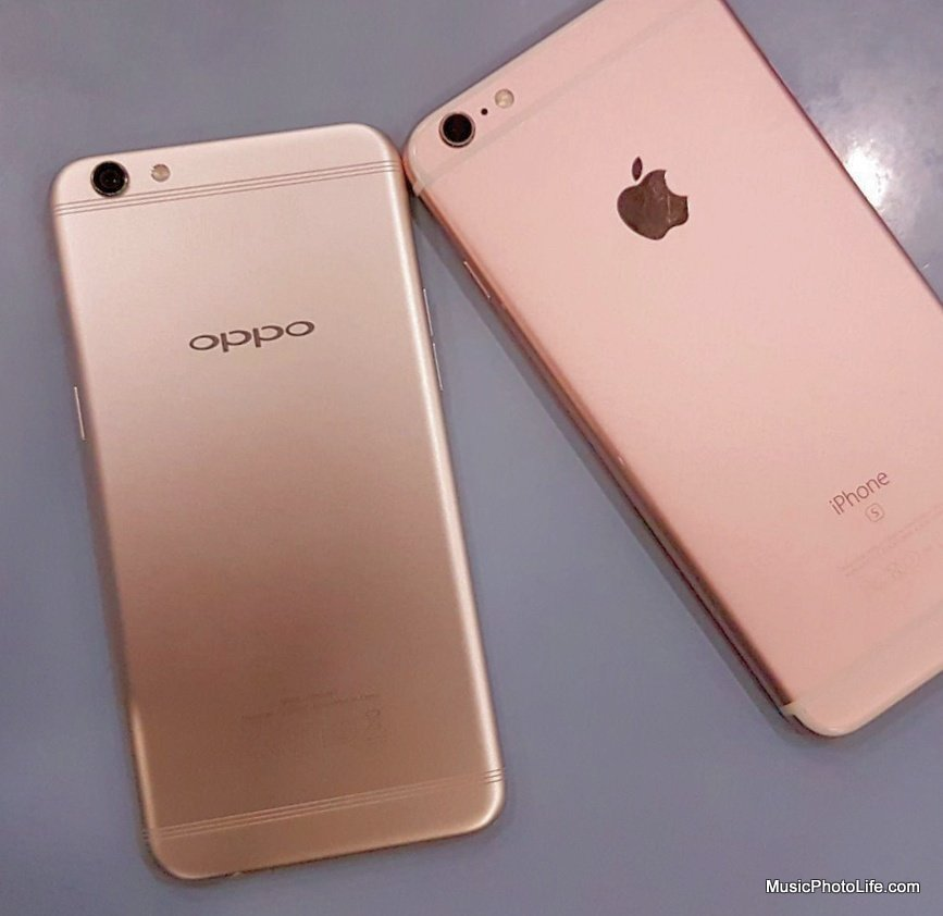 OPPO R9s vs. iPhone 7