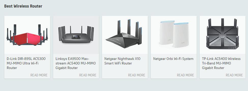 ST Digital Awards 2017 - Best Wireless Router