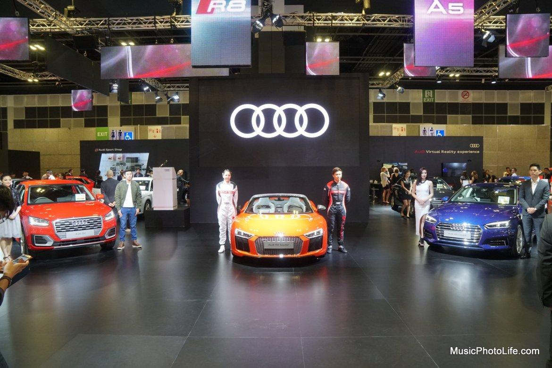 Audi Q2, Audi A5 Coupe, Audi R8 Spyder