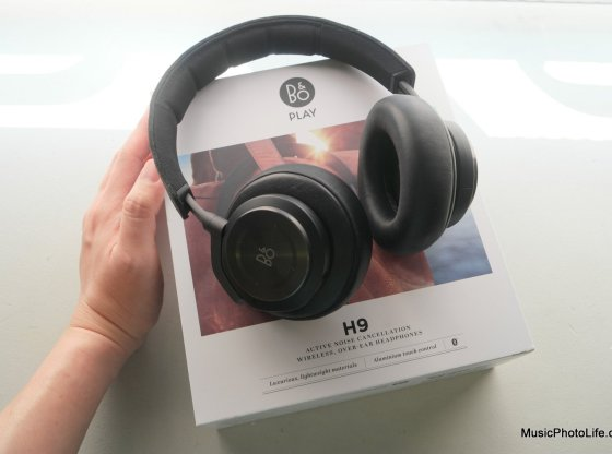 B&O PLAY Beoplay H9 unboxing by musicphotolife.com
