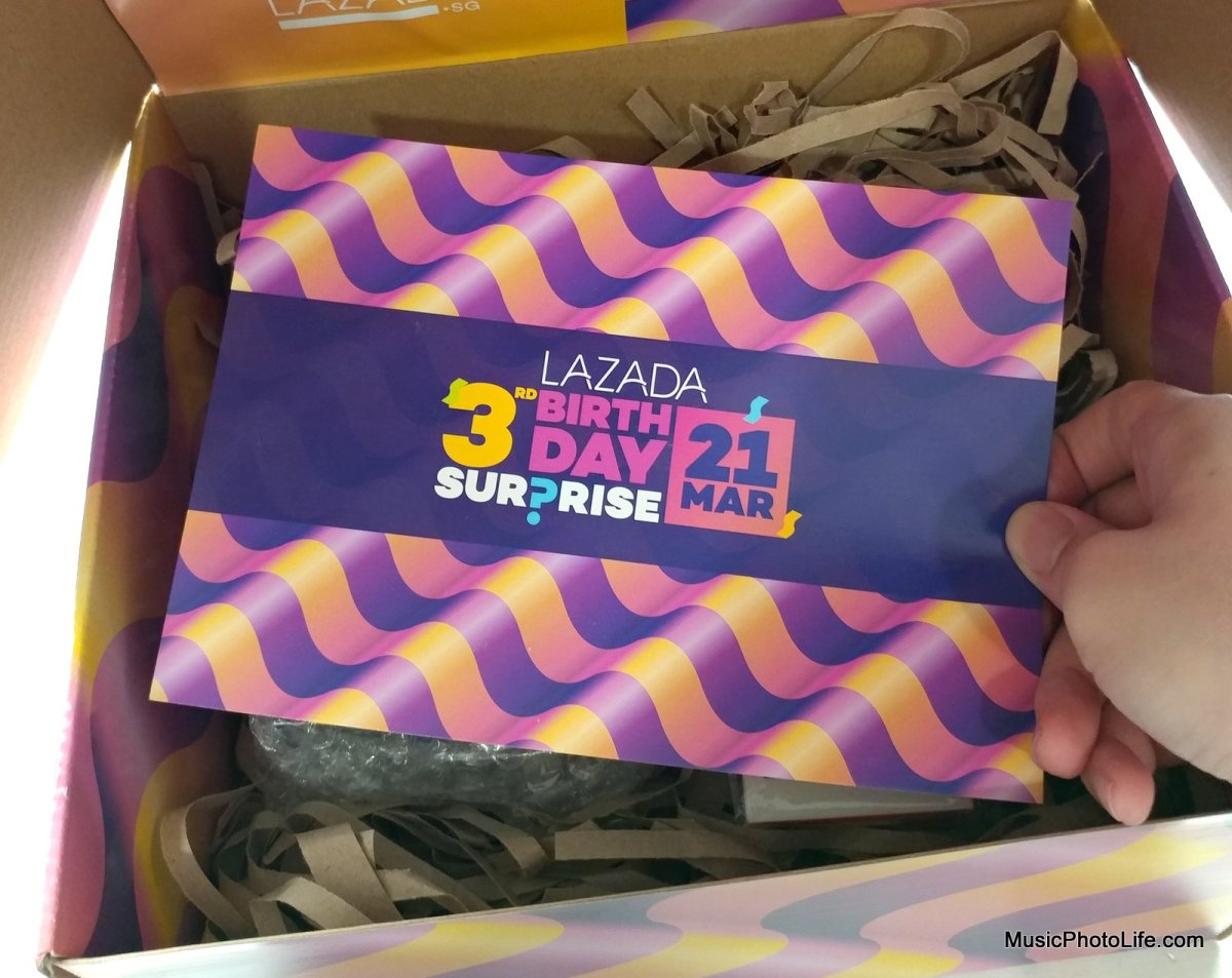 $29 JBL X Lazada Surprise Box Worth $100: Lazada's 3rd Birthday