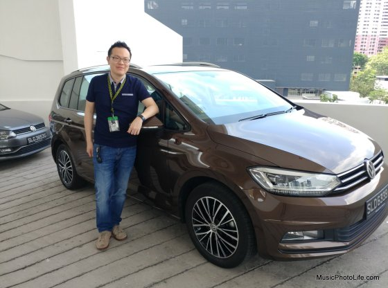 Volkswagen Touran Comfortline Singapore review by musicphotolife.com