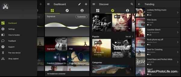 Jaybird MySound app
