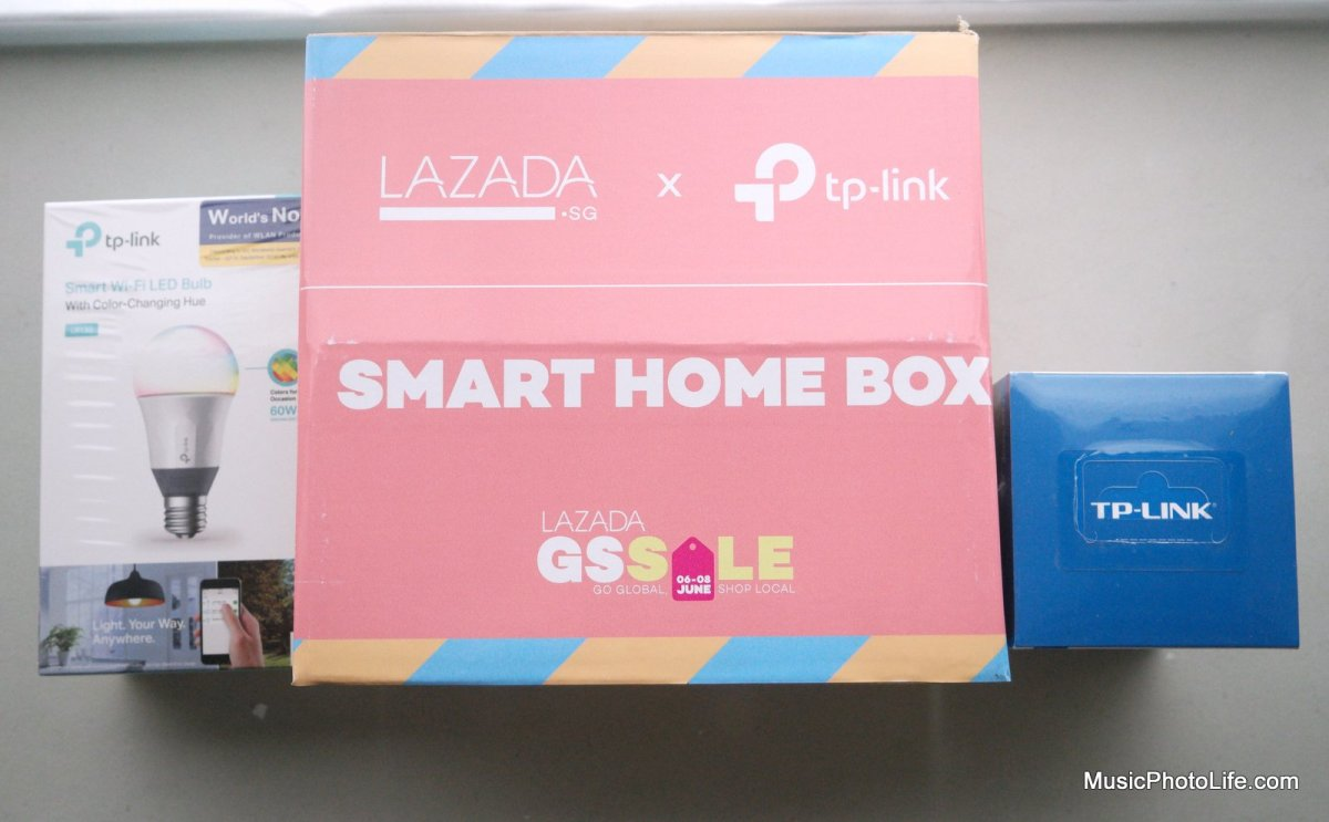 Lazada Surprise Box: $29 TP-Link Worth $100