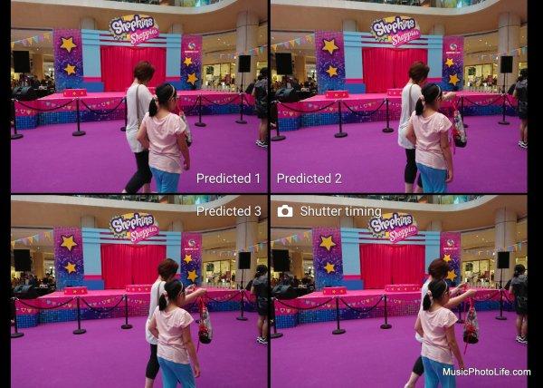 Sony Xperia XZs XZ Premium Predictive Capture