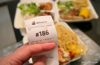 Deliveroo food delivery service in Singapore review by musicphotolife.com