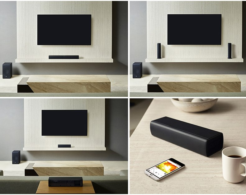 LG Sound Bar Flex SJ7