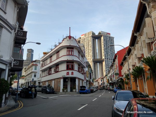 HTC U11 test image, Keong Saik Road, Chinatown, review by musicphotolife.com