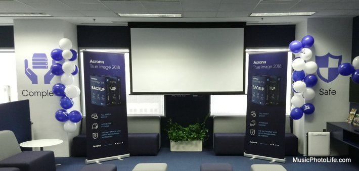 Acronis True Image 2018 launch event in Singapore