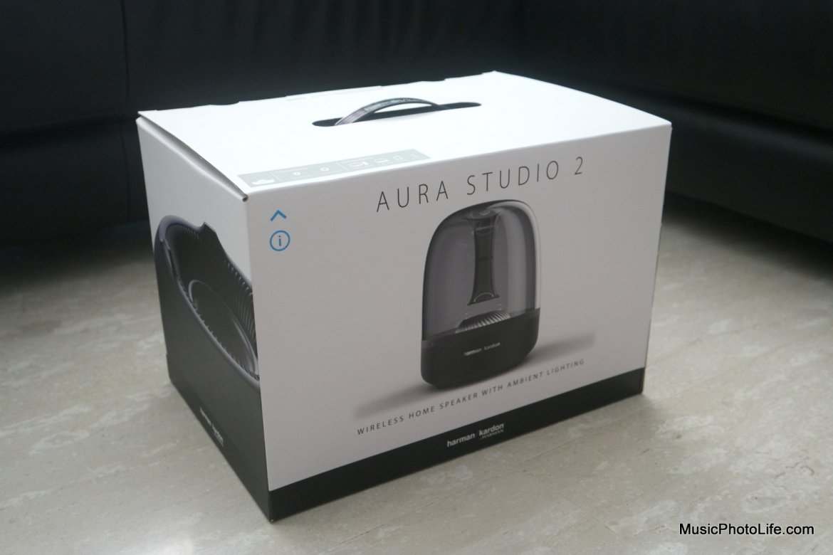 Harman Kardon Aura Studio 2 Bluetooth Speaker review by musicphotolife.com