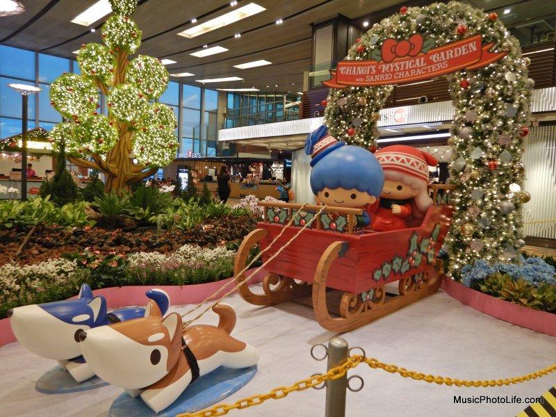 Nikon W300 photo sample at Changi Airport